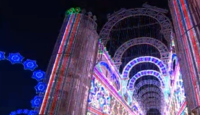 Luminarie made in puglia a valencia for Luminarie puglia